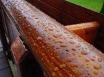 Holz Terrassengeländer, Terrassengeländer Bärike, Terrasse Bärike