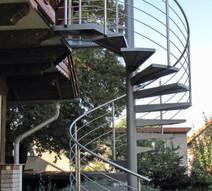 Außentreppe Stahl, Außentreppe Edelstahl, Außentreppe Bärike